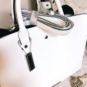 Dune London Bags - Dune London New With Tags White Handbag With Strap
